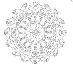Crochet Coaster Pattern, Crochet Doily Diagram, Crochet Square Patterns, Crochet Circles, Crochet Doily Patterns, Crochet Squares, Thread Crochet, Crochet Doilies, Crochet Flowers