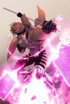 Gambit // artwork by Robert Atkins and Eddie Swan (2012)