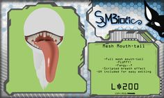 [Symbiotic] - Mesh MouthTail