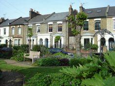 Fassett Square in Dalston
