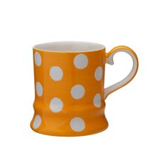 Whittards Florence Orange Spot Mug