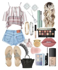 """Classy 24"" by ella-goodness on Polyvore featuring Glamorous, Mémoire, Cartier, Antik Batik, Anastasia Beverly Hills, NARS Cosmetics, Lime Crime, Christian Dior and Battington"