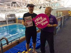 BATS resident Ironman trains hard but always has time to help others. #BigThankYou http://www.joininuk.org