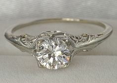 Oh my gosh Kyle you have to convince Jamie to buy this for me! I LOVE this vintage ring!