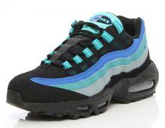 Nike Air Max 95 Black / Hyper Cobalt