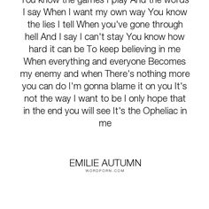 Emilie Autumn - Wallpaper by ConceptJunkie124 ...