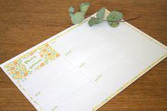 mealplanner free printable - menus de la semaine liste à imprimer  - gratuit Blog, Free, Blogging