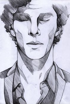 cool The lonely – Sherlock by Mi-caw-ber.devian… on june cool The lonely – Sherlock by Mi-caw-ber.devian… on june //i love this style of shading CONTINUE READING Shared by: Art And Illustration, Portrait Illustration, Drawing Sketches, Sketch Art, Drawing Faces, Drawing Ideas, Sketching, Drawing Men Face, Drawings Of Men