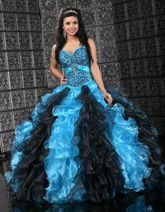 Quinceanera Fashion - Animal Print #quince #quinceaneradresses #sweet16