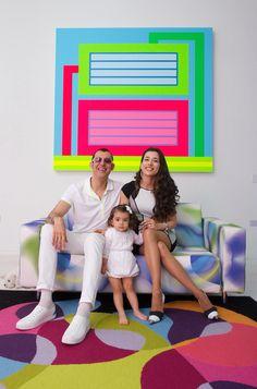 Karim Rashid family #lucaboffiard