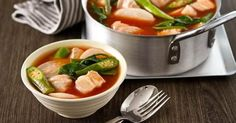 Pork Tomato Sinigang      Classic Pork Sinigang made more tastier, thicker and richer by adding tomato sauce. Try this new and exciting dish on your family date nights