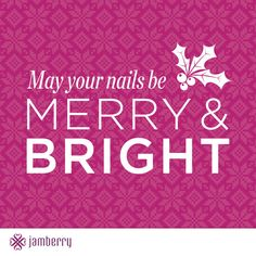 "Get your Christmas gifts .... and a few ""extras"" for your own stocking :) ... by hosting a Jamberry Nails party online with me! Ask me how!"