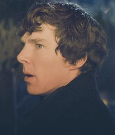 (gif) Sherlock makes a funny face