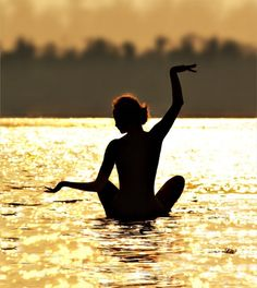 #yoga #lotus #water