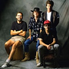 """In Stevie Ray Vaughan and Double Trouble became a four-piece band with the addition of keyboardist Reese Wynans (left). He made his debut with them on the band's third album, 'Soul to Soul"""". Stevie Ray Vaughan Guitar, Steve Ray Vaughan, Jimmie Vaughan, Rock N Roll, Extraordinary People, Blues Rock, Eric Clapton, Double Trouble, Rock Music"""