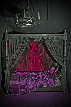 Goth bed