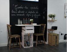 Z calo de pizarra gris graffiti en la cocina cocina - Pizarra de cocina ...