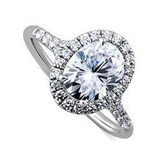 https://ariani-shop.com/2ct-oval-forever-brilliant-moissanite-14k-white-gold-halo-split-shank-diamond-engagement-ring-2mm-wide 2CT Oval Forever Brilliant Moissanite 14K White Gold Halo Split Shank Diamond Engagement Ring 2mm Wide
