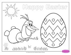 Frozen Easter Coloring Pages. Make your world more colorful with free printable coloring pages from italks. Our free coloring pages for adults and kids. Easter Coloring Sheets, Frozen Coloring Pages, Heart Coloring Pages, Disney Princess Coloring Pages, Coloring Easter Eggs, Colouring Pages, Printable Coloring Pages, Kids Coloring, Free Coloring