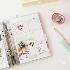 Heidi Swapp Memory Planner pages by @createoften: