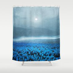 magical Tulips Shower Curtain by Viviana Gonzalez - $68.00