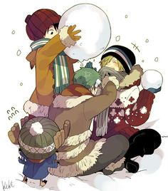 I want the winter ~ `