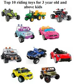 Check the list of best top 10 battery powered riding toys for 3 year old and above kids.