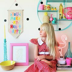 Dear Ocea, You make my heart happy! ❤️ {more birthday girl party spam on the blog - link in bio} #kidsparties#colorfulinteriors#pocketofmyhome#tapfortags#myunicornlife#oobi#oobifytheworld#thehappynow
