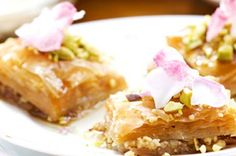 Baklava with pistachios and orange flower water syrup – Recipes – Bite