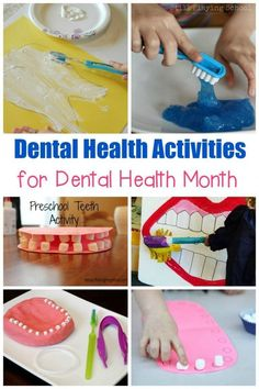 Did you know that February is Children's Dental Health month? Teach your kids ho… Did you know that February is Children's Dental Health month? Teach your kids how to improve their dental health with these fun dental health activities. Dental Health Month, School Health, Kids Health, Oral Health, Children Health, Health Care, Health Heal, Public Health, Dental Kids