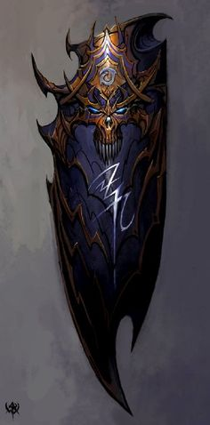 warhammer online shield concept art