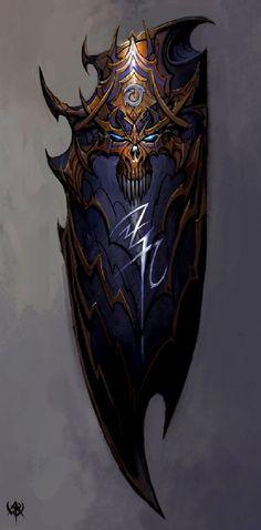 warhammer online shield concept art