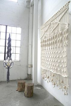 ... macrame' wasn't quite this refined!