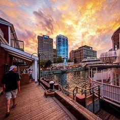 When the sun sets on downtown Halifax. Featured image via Canadian Travel, Canadian Rockies, Nova Scotia Travel, Atlantic Canada, Travel Oklahoma, Prince Edward Island, New Brunswick, Vacation Trips, Vacations