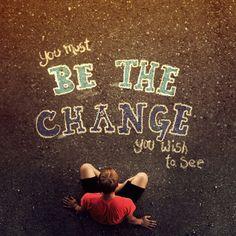 """change?"" @gracia fraile Gomez-Cortazar | Grace's Sweet Life #quotes #photography #arts"