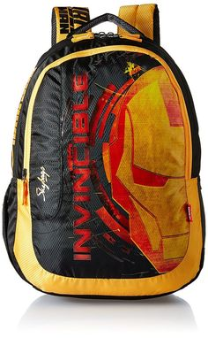 4212df367c Skybags SB Marvel 35 Ltrs Black School Backpack (SBMAPIN4BLK)