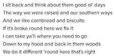 "lyrics from "" Dirt Road "" - Jason Aldean Jason Aldean, Ol Days, Sit Back, Good Ol, I Can, Lyrics, Music, Quotes, Musica"