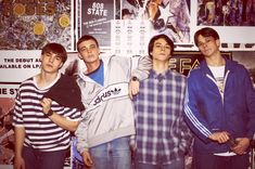 Nico Mirallegro, Jordan Murphy, Adam Long and Oliver Heald from Spike Island Uk Culture, Youth Culture, Summer Knight, Nico Mirallegro, Love Yourself Lyrics, Stone Roses, Acid House, Skater Boys, Britpop