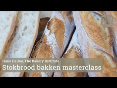 Zelf stokbrood maken met Hans Heiloo van The Bakery Institute - YouTube Master Class, Beets, Hot Dog Buns, I Foods, Green Beans, Bakery, Spices, Vegetables, Recipes
