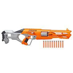 Nerf – Accustrike Alphahawk by Hasbro European Trading B.V – Lealu Shop Arma Nerf, Pistola Nerf, Nerf Accessories, Cool Nerf Guns, Nerf Darts, Nerf Mod, Kids Toys, Fire, Shopping