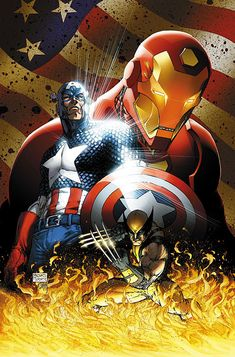 marvel universe - civil war