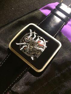 WATCHe - We3S - Diamond Skeleton, Cufflinks, Diamond, Phone, Rings, Accessories, Telephone, Ring, Skeletons