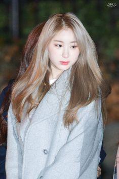 181123 Music Bank 출근  #izone #chaeyeon