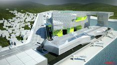 Keelung Harbor Service Building | Neil M. Denari Architects : NMDA