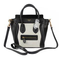fake celine phantom bag - Celine Luggage Green Black Leather Bag http://www.hjbon.com/celine ...