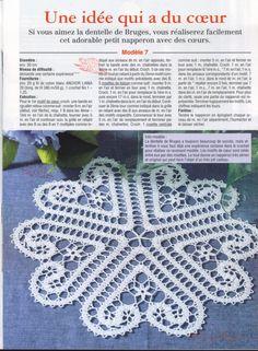 """Deckchen Filethäkeln - crochet doily - Gallery.ru / Foto # 62 - Servietten """"Brügge"""" (mit Farbfotos) - Alleta"""
