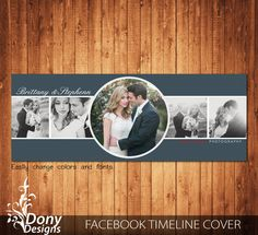 Wedding Facebook timeline cover template photo collage - Photoshop Template Instant Download - BUY 1 GET 1 FREE: fc354 by DonyDesigns on Etsy