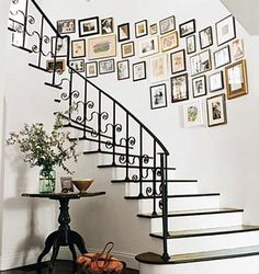Make our family gallery around the upstairs