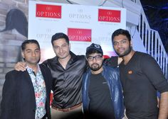 Guests with Options Mall Owner Mr. Dharmeshji