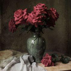 Still Life, Painting, Spring, Pretty, Nature, Flowers, Plants, Art, Beautiful